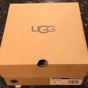 "NEW Empty UGG Box  5"" Tall 11"" Long 10"" Wide"